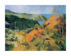 Large Panoramic View I by Boscoe Holder