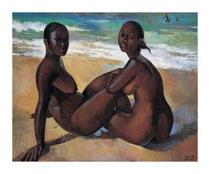 Les Amis by Boscoe Holder