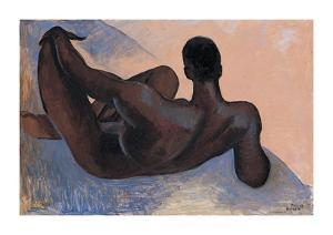 Male Nude I by Boscoe Holder