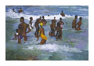 Sea Bathers Maracus by Boscoe Holder