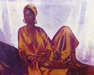 Sheila in Gold by Boscoe Holder
