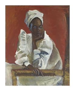 Trinidad Baptist Woman by Boscoe Holder