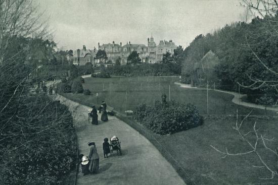'Boscombe Gardens', c1910-Unknown-Photographic Print
