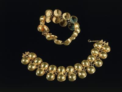 Boscoreale Treasure, Gold Bracelets, from Boscoreale--Giclee Print