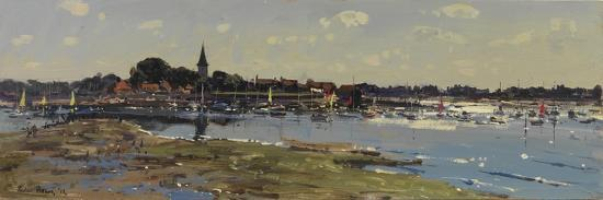 Bosham from Chidham, Sailing Lessons, 2011-Peter Brown-Giclee Print
