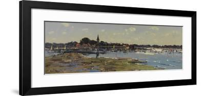 Bosham from Chidham, Sailing Lessons, 2011-Peter Brown-Framed Giclee Print