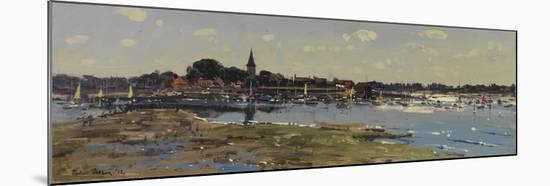 Bosham from Chidham, Sailing Lessons, 2011-Peter Brown-Mounted Giclee Print