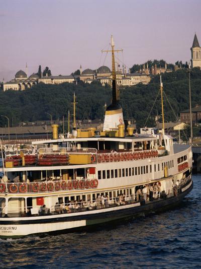 Bosphorus Ferry, Istanbul, Turkey, Eurasia-David Lomax-Photographic Print