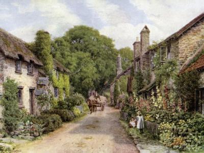 Bossington, Near Porlock, Somerset-Alfred Robert Quinton-Giclee Print