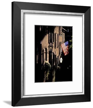 Boston, Acorn Alley-Richard Nowitz-Framed Photographic Print