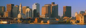 Boston Harbor from South Boston, Sunrise, Massachusetts