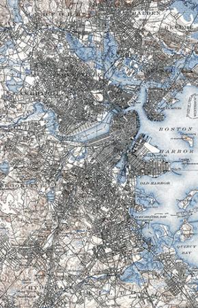 Boston Map, 1903