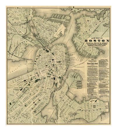 Boston, Massachusetts, c.1884-Tilly Haynes-Art Print
