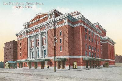 Boston Opera House--Art Print