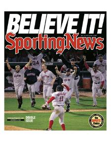 Boston Red Sox - World Series Champions - November 8, 2004