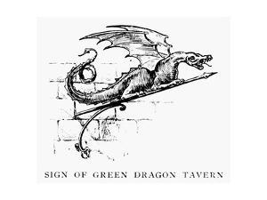 Boston: Tavern Sign