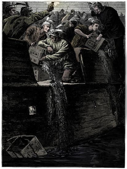 Boston Tea Party, 26 December 1773-Unknown-Giclee Print