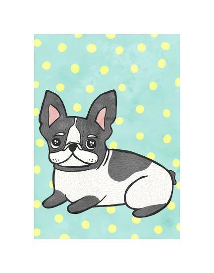 Boston Terrier-My Zoetrope-Art Print
