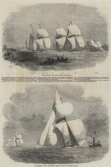 Boston Yacht Club Regatta-Edwin Weedon-Giclee Print