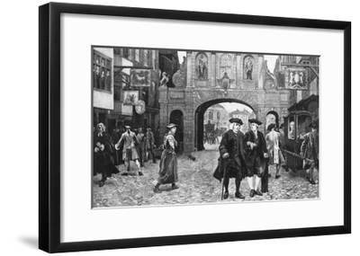Boswell and Dr. Johnson--Framed Giclee Print