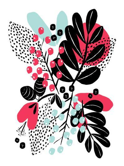 Botanic Burst II-Myriam Tebbakha-Giclee Print