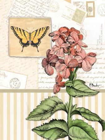 Botanical Collage I-Paul Brent-Art Print