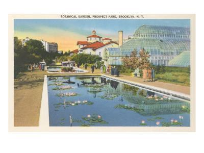 Botanical Garden, Prospect Park, Brooklyn, New York--Art Print