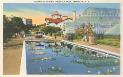 Botanical Garden, Prospect Park, Brooklyn, New York
