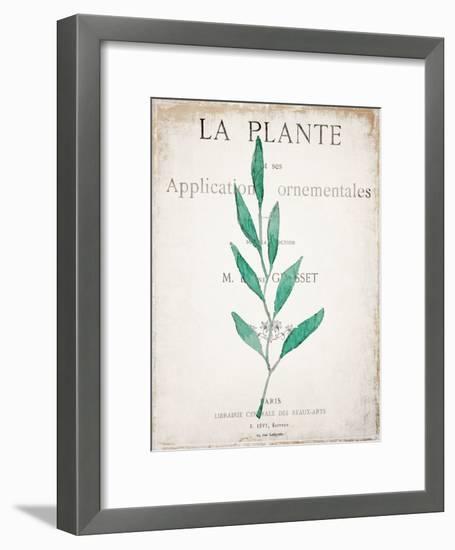 Botanical Pages 1-Kimberly Allen-Framed Art Print