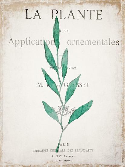 Botanical Pages 1-Kimberly Allen-Art Print