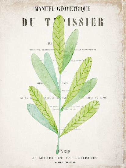 Botanical Pages 3-Kimberly Allen-Art Print