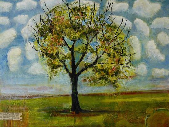 Botanical Print Patterned Sky Tree-Blenda Tyvoll-Art Print