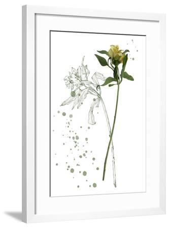 Botany Flower I-Melissa Wang-Framed Art Print