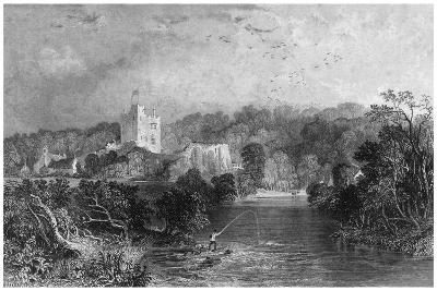Bothal Castle, Northumberland, 19th Century-J Sands-Giclee Print