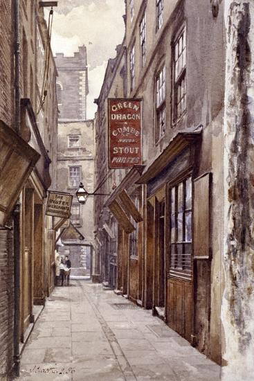 Botolph Alley, London, 1886-John Crowther-Giclee Print