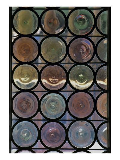 Bottle-Glass Window--Giclee Print