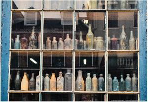 Bottles In New Orleans Louisiana Storefront