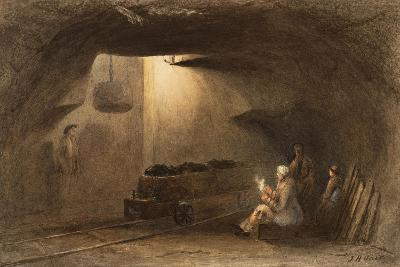 Bottom of the Shaft, Walbottle Colliery-Thomas H. Hair-Giclee Print