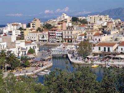 Bottomless Lake, Agios Nikolas, Crete, Greek Islands, Greece, Europe-Robert Harding-Photographic Print