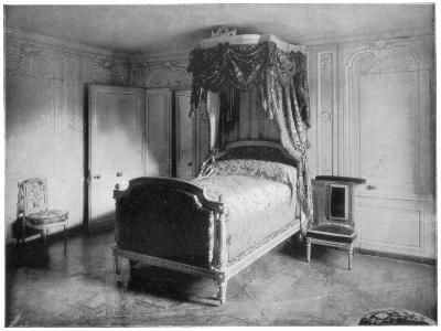 Boudoir of Marie Antoinette, Trianon, Versailles, (Late 19th Centur)-John L Stoddard-Giclee Print