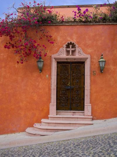 Bougainvillea Blooming, San Miguel, Guanajuato State, Mexico-Julie Eggers-Photographic Print