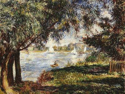 Bougival, 1888-Pierre-Auguste Renoir-Giclee Print