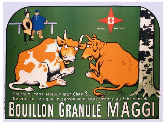 Bouillon Maggi-Benjamin Rabier-Giclee Print