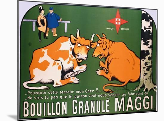 Bouillon Maggi-Benjamin Rabier-Mounted Giclee Print