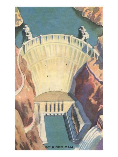 Boulder Dam, Nevada--Art Print