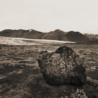 Boulder in Glacial Till--Photographic Print