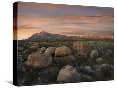Boulders at Guadalupe Mountains National Park, Texas-Tim Fitzharris-Stretched Canvas Print