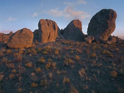 Boulders of the City of Rocks State Park, New Mexico, Usa-Tim Fitzharris-Photographic Print