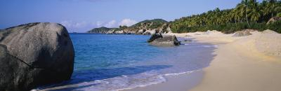 Boulders on the Beach, the Baths, Virgin Gorda, British Virgin Islands--Photographic Print