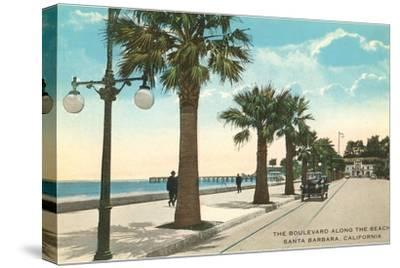Boulevard along Beach, Santa Barbara, California